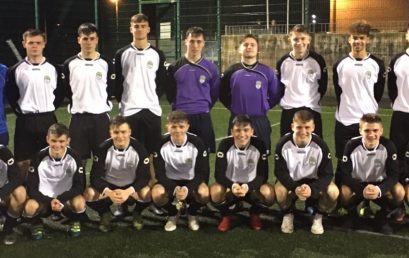 3 Yeats College students representing Connacht in FAI Schools Tournament.